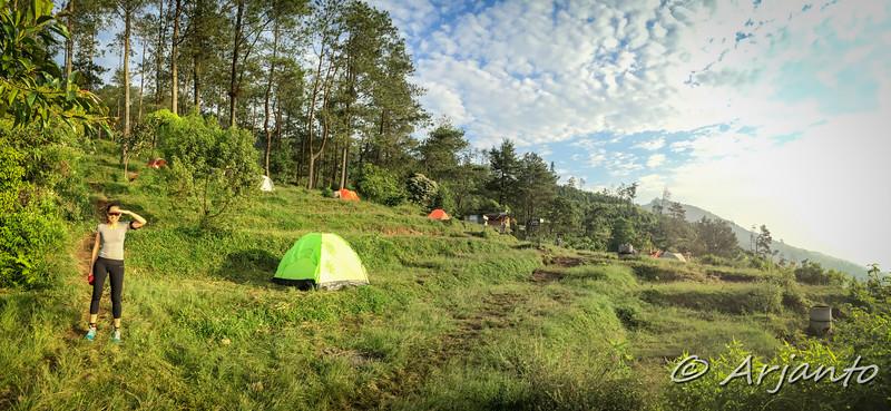 Camp Site @ Mt. Ungaran