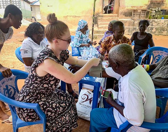 Mackenzie in Ghana