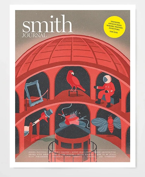 Smith Journal Vol33, January 2020 (photo credit: Smith Journal/Frankie Press)