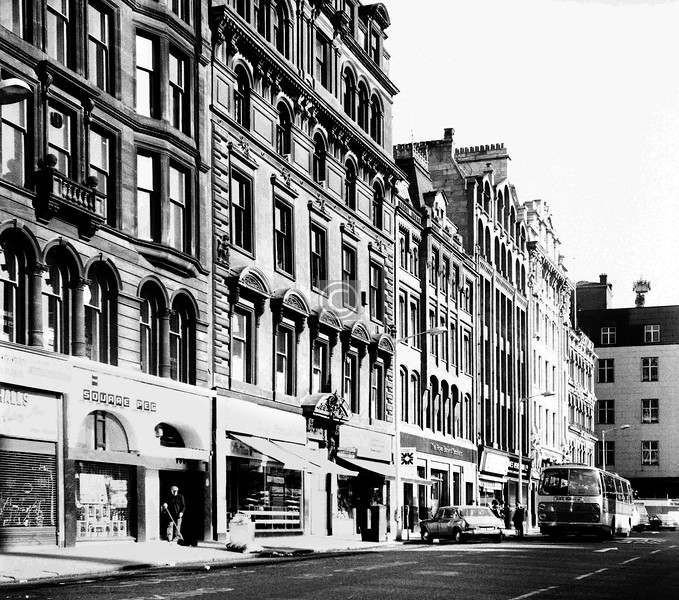 St Enoch Square, west side.  