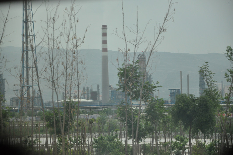 More of Lanzhou's industry.