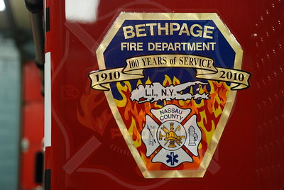 Bethpage F.D. New 9055 and Station 5 Apparatus