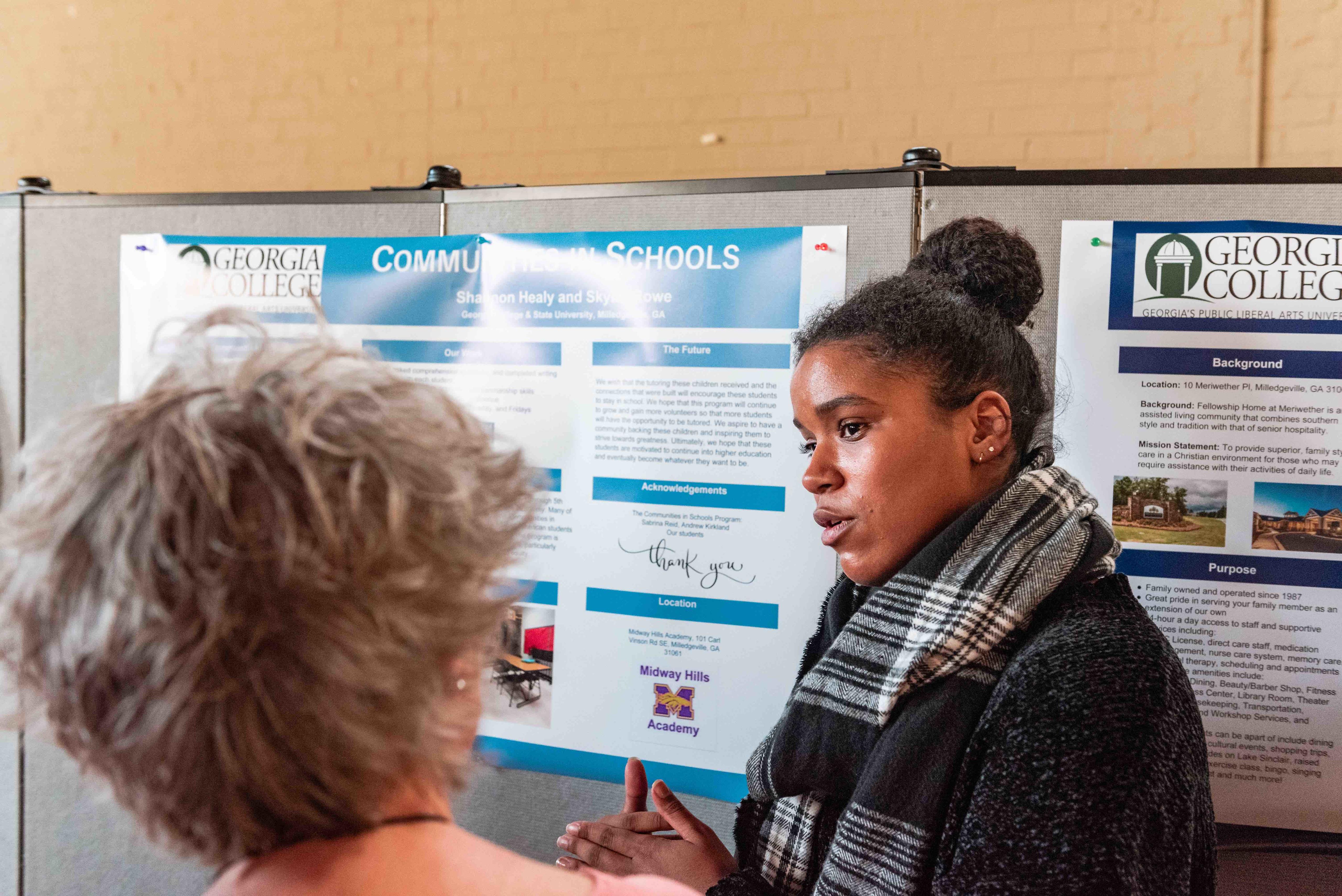 Undergraduate research at Georgia College.