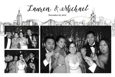 Lauren & Michael Wedding 26 Nov 2016