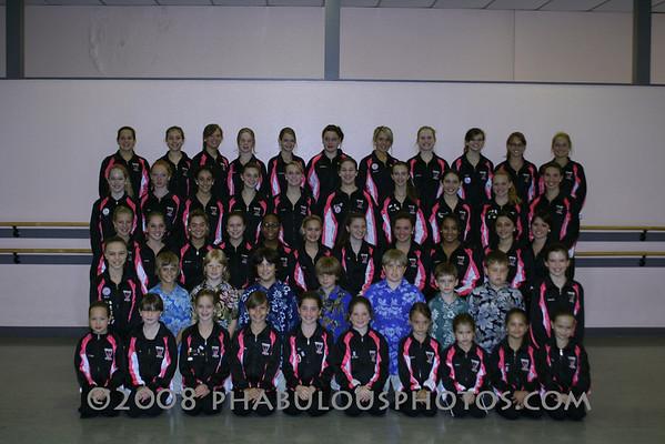 Dance Company 2007 Group Photo