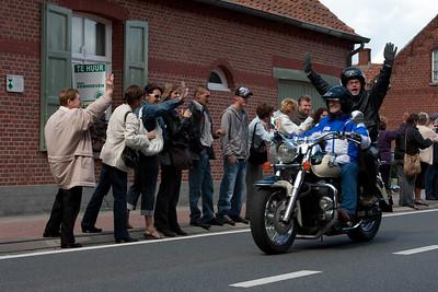 Zandbergrun 2009 - Eerste deel van de run