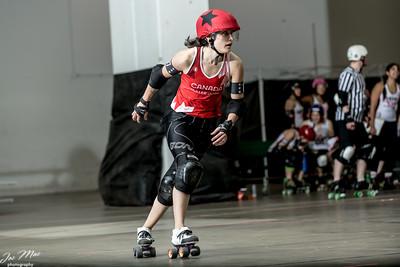 Team Canada Roller Derby scrimmage