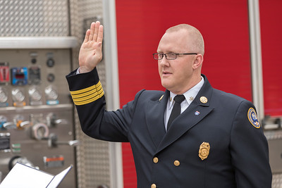 Fire Chief David Pennington Sworn In