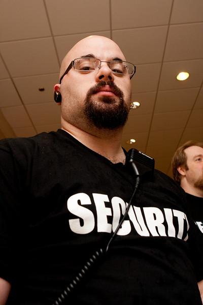 Badass security.