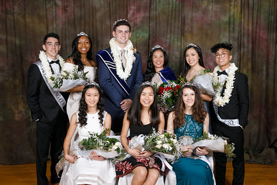 RCS 2018 Homecoming Court Portraits