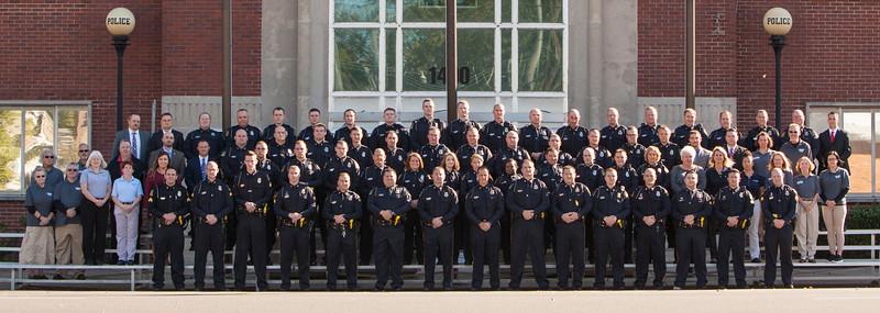 Paducah Police Group Photo 2018