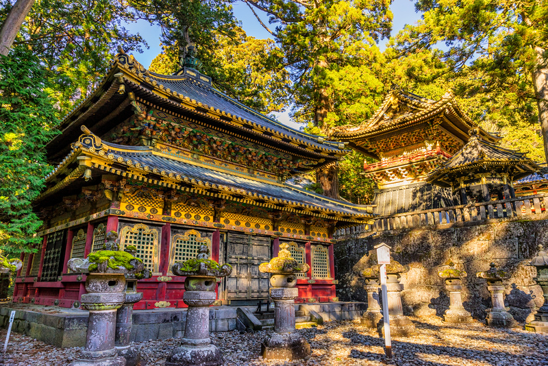 Toshogu Shrine at Nikko. Editorial credit:  Luciano Mortula / Shutterstock.com
