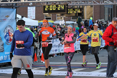 Inter. Half Finish, Gallery 2 - 2014 Detroit Marathon