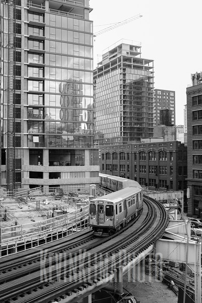 Chicago Trains and Tracks