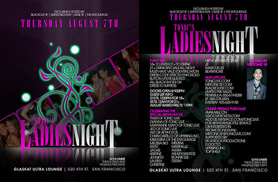 Ladies Night @ Glas Kat --- 8/7/08 [18+]