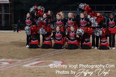 11-11-2011 Quince Orchard HS Band Cheerleading Poms, Photos by Jeffrey Vogt Photography