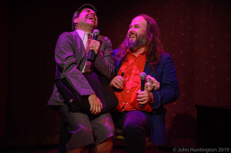 The Corn Mo and the Love Show Show Holiday Show at The Slipper Room, December 19, 2018