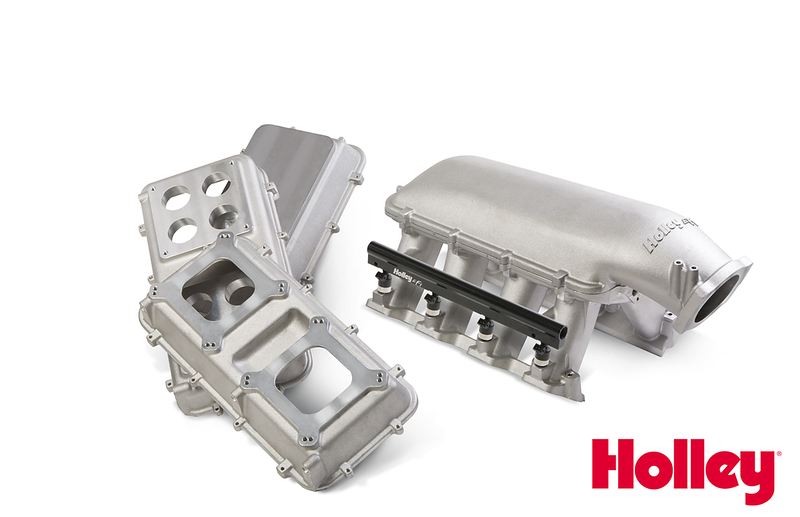 Holley Modular Hi-Ram Intake System for LS Cathedral Port and LS7 Engines