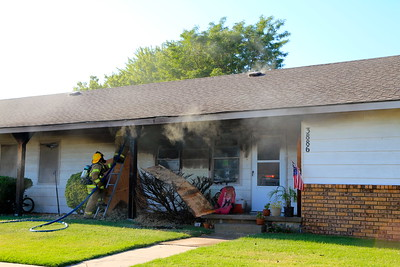 Apartment Fire 3886 N. Oliver (7/19/11)