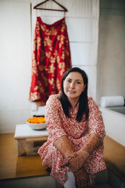 Getting Ready - Julia - Inidan Ceremony