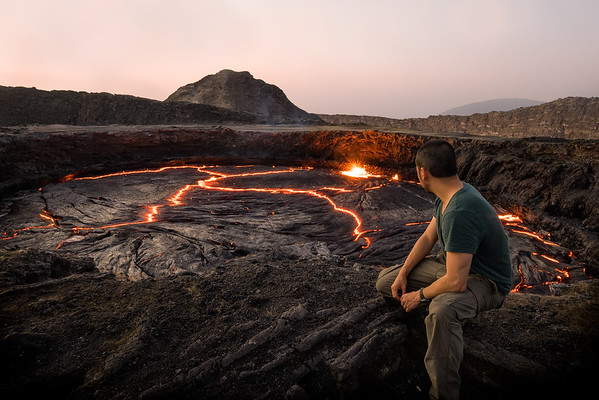 How I Climbed an Active Volcano and Lived to Photograph it