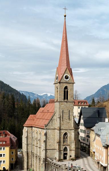 Preimskirche, Bad Gastein, Austria