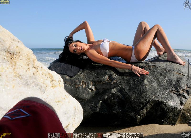 beautiful woman sunset beach swimsuit model 45surf 866,