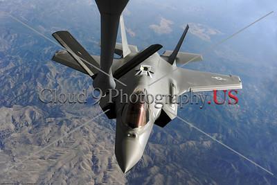 USAF Lockheed Martin F-35 Lightning II Aerial Refueling Pictures