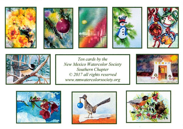 2017 Southern Chapter Fund Raiser Holiday Cards