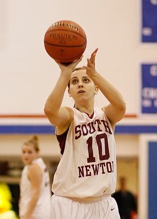 SNHS Girls Basketball vs Caston - Sectional 2009