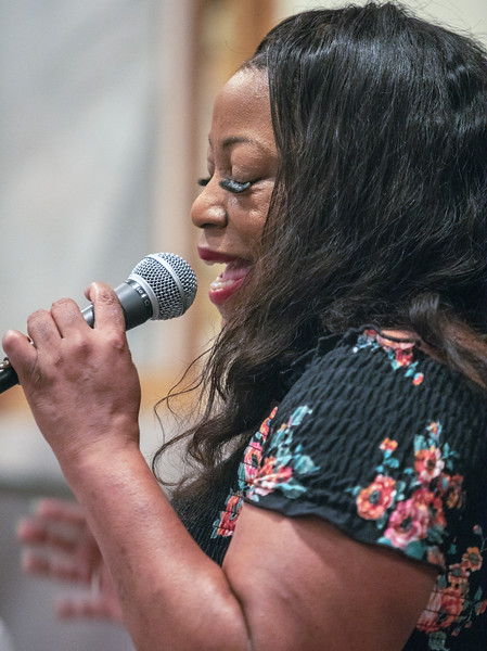 Demetria Taylor | Delmark Rehearsal for Blues Fest
