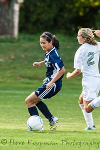 2012 PHS JV Girls Soccer vs FC