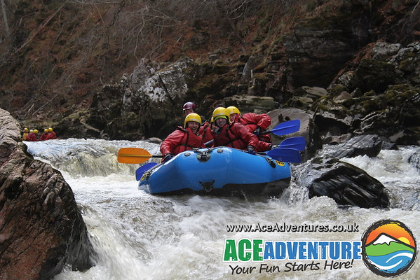 30th March 2013 - Stag White Water Rafting