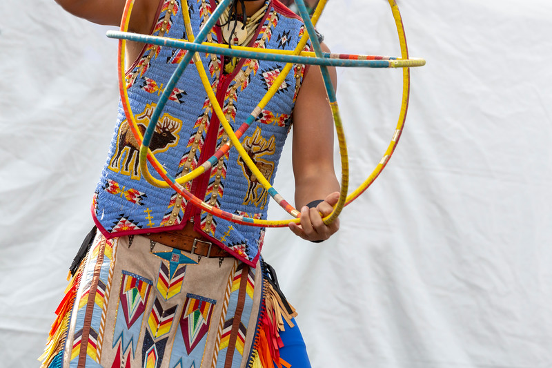 Native American Hoop Dancing