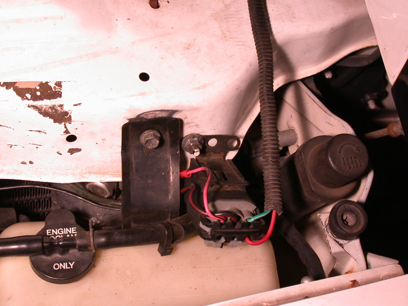 power comes through a chevy beretta relay switched by the Link ECU