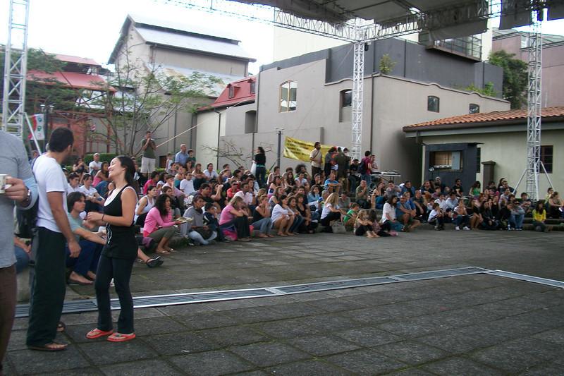 YOGA FESTIVAL - Sept. 11, 2011 - CENAC  People enjoying the entertainment!