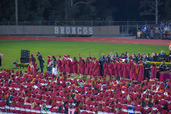 Leslie Graduates with Honors from  Brookwood High School