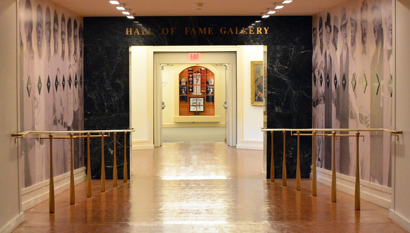 Entrance to the Hall of Fame Gallery at  the National Baseball Hall of Fame & Museum
