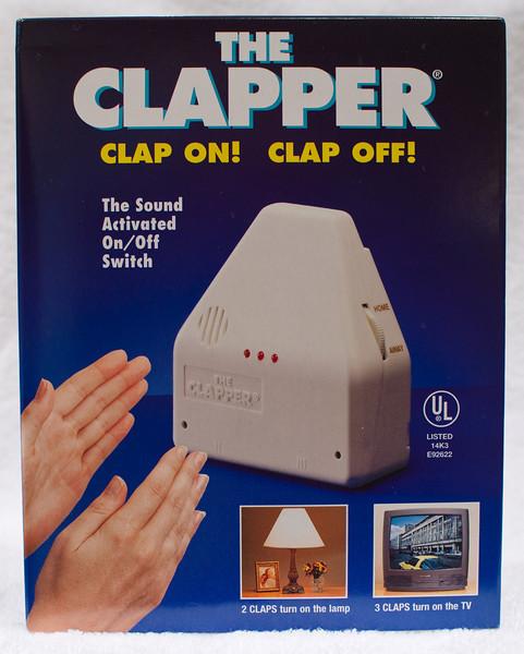 The Clapper(r)  At Robillard?