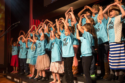 Kids Choir April 2017