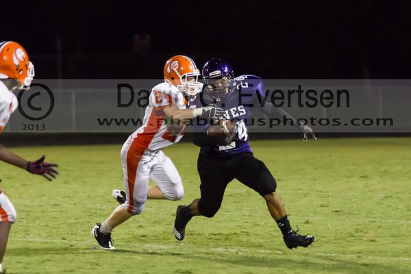 Boone Junior Varsity Football #24 - 2013