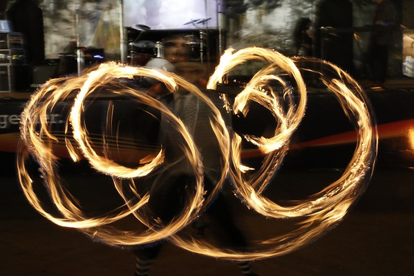 2016 State Fair Promenade Stage Fire Show