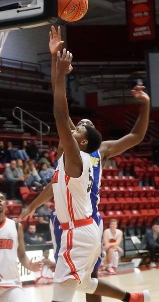 The Gardner Webb JV Men's Basketball team faced Limestone on November 11th.
