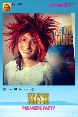Walking on Sunshine Launch Party