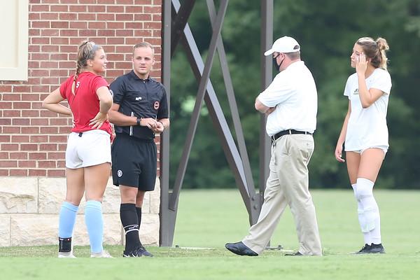 USJ varsity girls soccer v Briarcrest 8-20-20