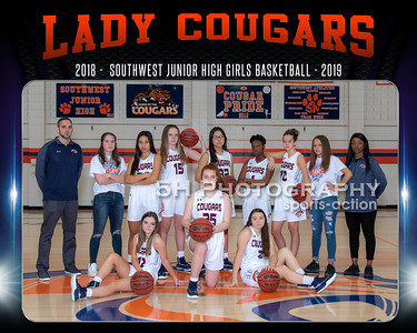 SWJH Girls Basketball