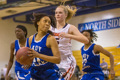 3-10-15 Minneapolis North v Legacy Christian Academy Girls Basketball  Section 4A Semifinals