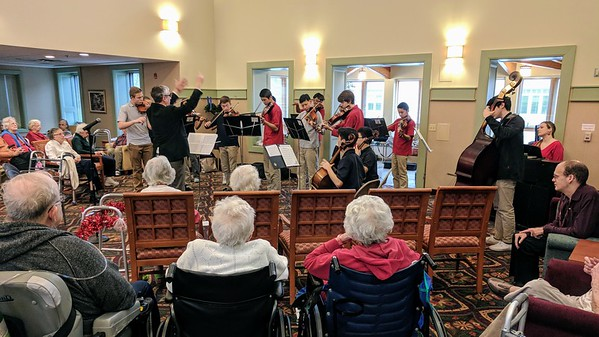 Honors Strings at Artman Lutheran Home