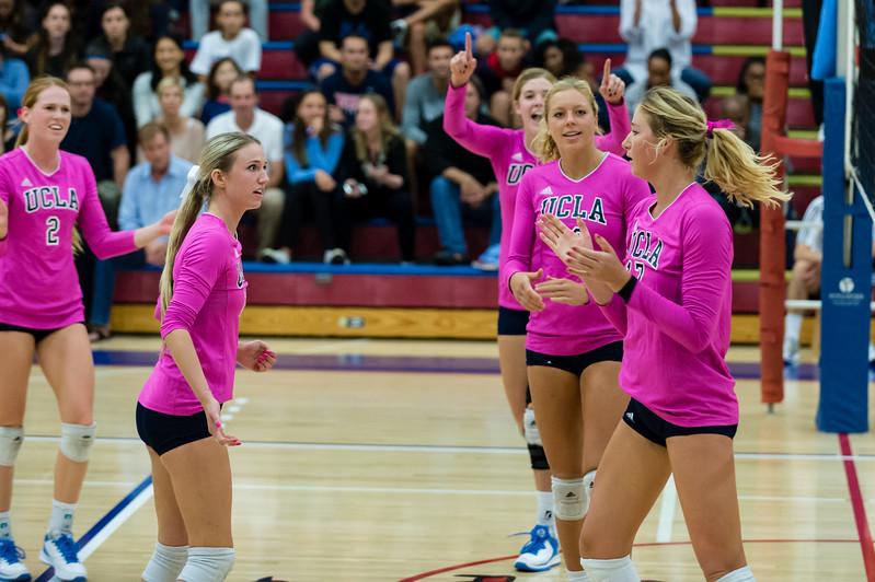 UCLA Women's Volleyball vs. Oregon @ Crossroads Gym, Santa Monica
