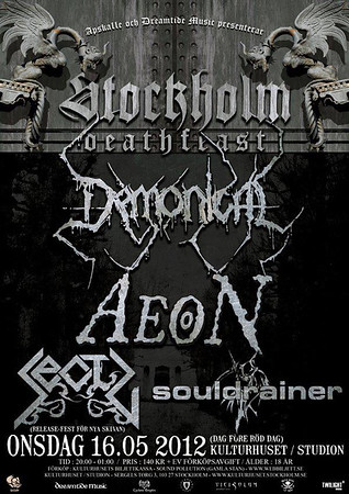DEMONICAL -  Sthlm Death Feast 2012